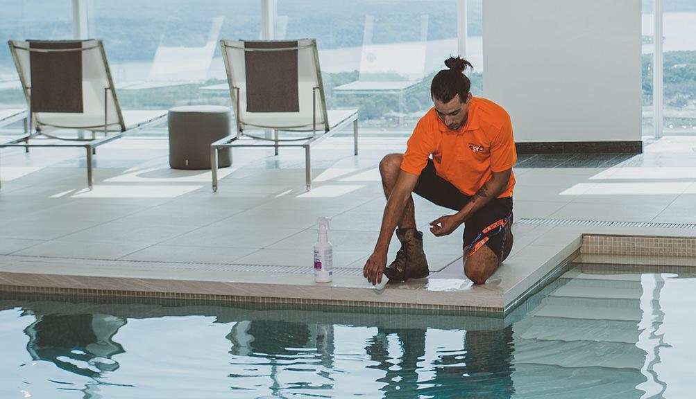 prise en charge piscine